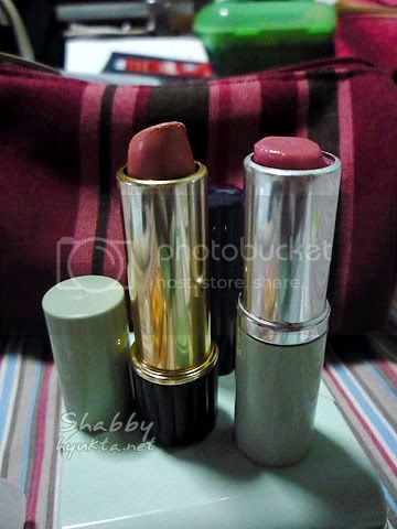 Estee Lauder and Clinique lipsticks
